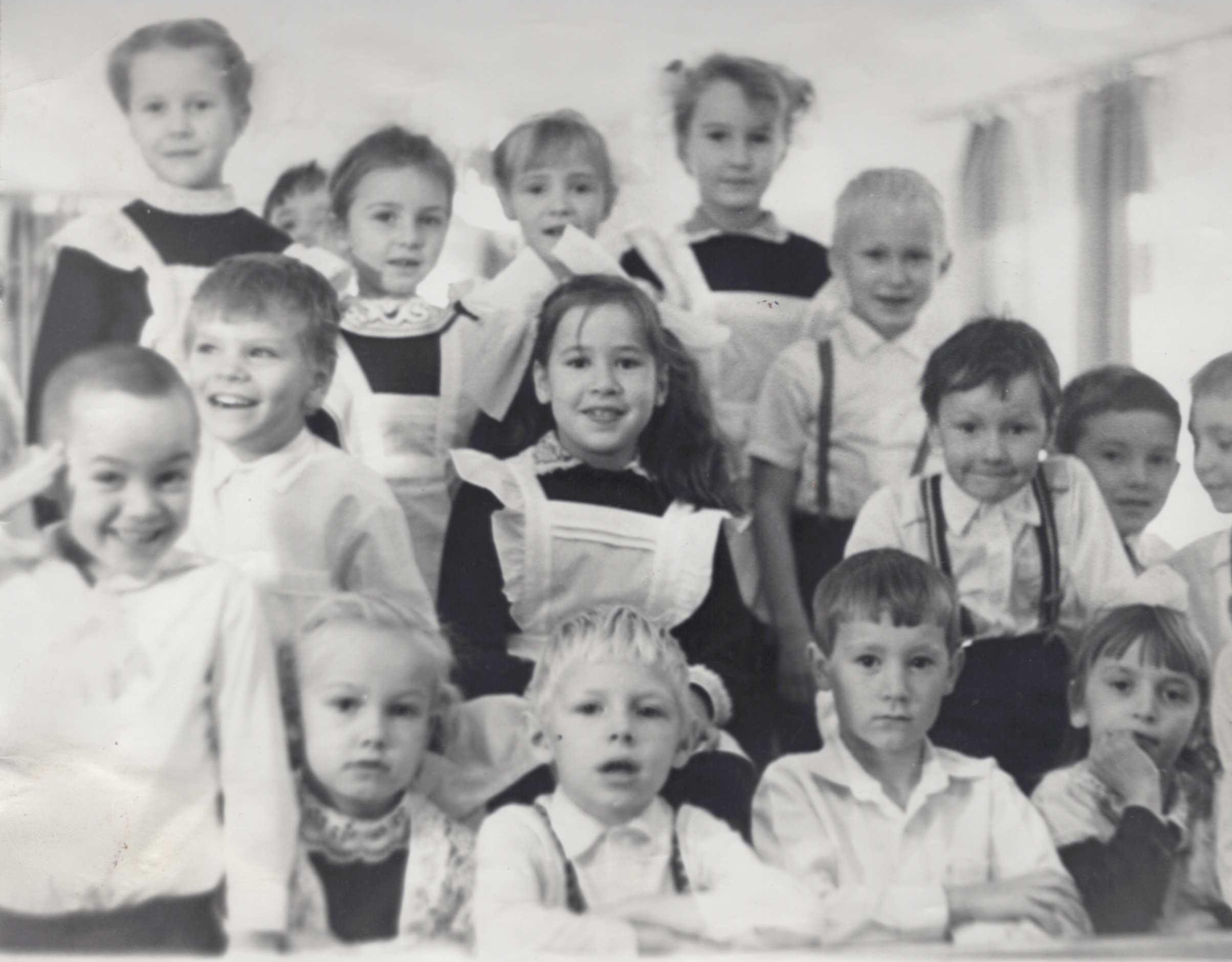 Архивная фотография школы